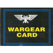 Choice of Wargear Cards from Warhammer 40,000 2nd Edition